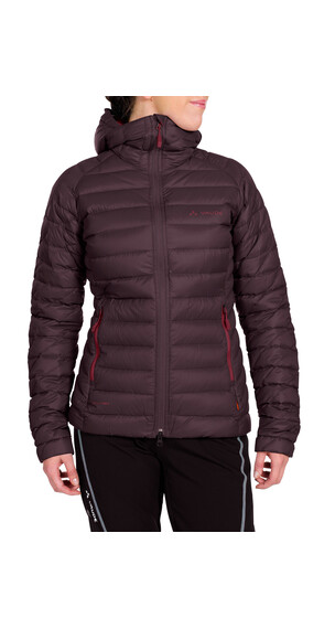 VAUDE Kabru II Hooded Jacket Women raisin